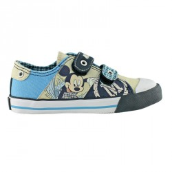 Zapatillas Mickey Disney lona velcro