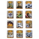 Caramelo chasquidos Star Wars sticker