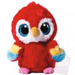 Peluche Scarlet Macaw Yoohoo & Friends 18cm