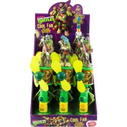 Ventilador figura caramelos Tortugas Ninja surtido