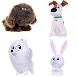 Peluche Mascotas Pets soft 19-29cm surtido