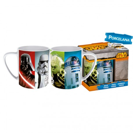 Taza porcelana Star Wars Disney