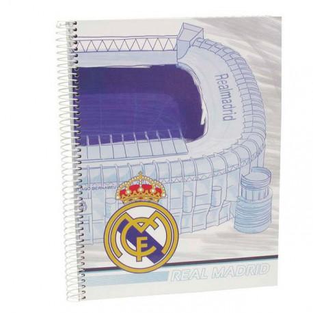 Cuaderno Real Madrid A5 120h