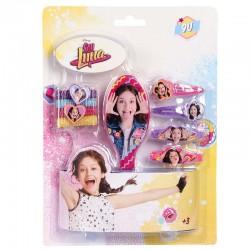 Blister accesorios pelo Soy Luna Disney