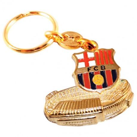 Llavero FC Barcelona escudo Camp Nou