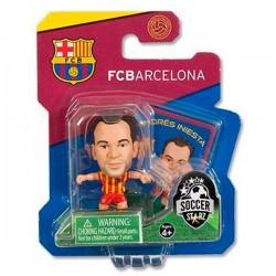 Figura Iniesta FC Barcelona SoccerStarz
