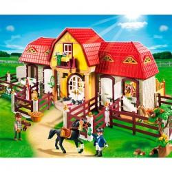 Granja ponis establo Playmobil Country