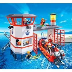 Estacion guardacostas faro Playmobil City Action