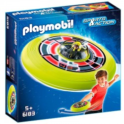 Disco Volador cosmico con astronauta Playmobil Sports Action