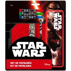 Set papeleria estuche metalico Star Wars Episodio VII Kylo Ren