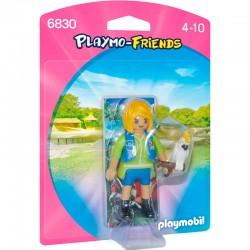 Cuidador cacatua Playmobil Playmo Friends