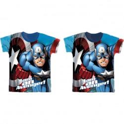 Camiseta Capitan America Marvel I am Avenger surtido