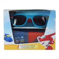 Set gafas sol funda Super Wings Jett