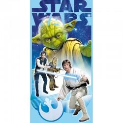 Toalla Star Wars Yoda algodon