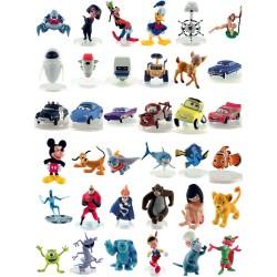 Figurita Disney Pixar MicroWorld surtido