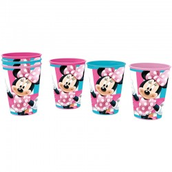 Set 3 vasos Minnie Disney picnic