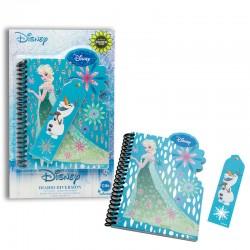 Diario diversion Frozen Disney holografico