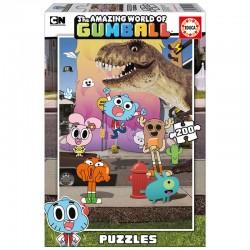 Puzzle Gumball 200pz