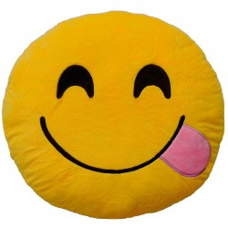 Cojin Emoticonworld lengua burla 25cm
