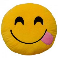 Cojin Emoticonworld lengua burla 32cm