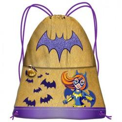 Saco Superhero Girls DC Batgirl asa 41cm