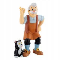 Figura Gepetto Pinocho Disney
