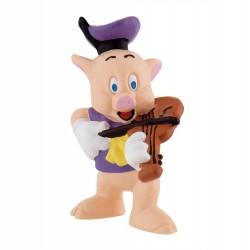 Figura Cerdito violin Los 3 cerditos Disney