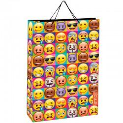 Bolsa regalo Emoji grande surtido