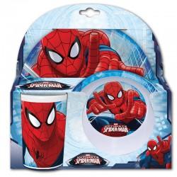 Set desayuno Spiderman Marvel melamina