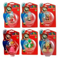 Figura Super Mario Bros Serie 3 5cm surtido