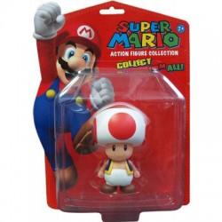 Figura Toad Super Mario Nintendo 12cm