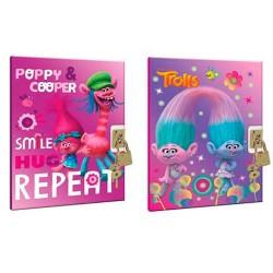 Diario Trolls Poppy candado surtido