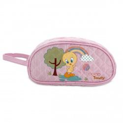 Neceser portatodo baby Looney Tunes rosa