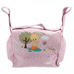 Bolso baby Looney Tunes rosa grande