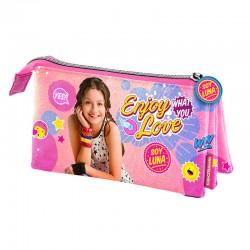 Portatodo Soy Luna Disney triple Enjoy Love