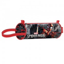 Portatodo Spiderman Marvel cilindrico Dark
