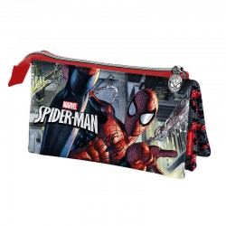 Portatodo Spiderman Marvel triple Dark