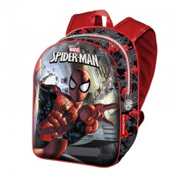 Mochila Basic Spiderman Marvel Dark 40cm