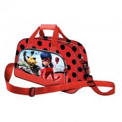 Bolsa Deporte Prodigiosa Ladybug Cat Noir 45cm