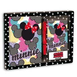 Set diario + listin Minnie Disney Fashionista