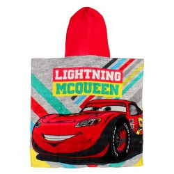 Poncho toalla Cars Disney Lightning McQueen