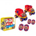 Set patines + protecciones Blaze and the Monster Machines