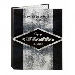 Carpeta Lotto Grunge A4 anillas