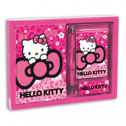 Set diario + listin Hello Kitty Cloud