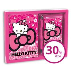 Set diario + listin Hello Kitty Cloud
