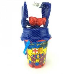 Cubo playa FC Barcelona molde
