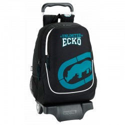 Trolley Ecko Unltd Black 44cm Carro 905