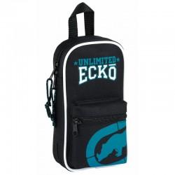 Mochila 4 portatodo completos Ecko Unltd Black