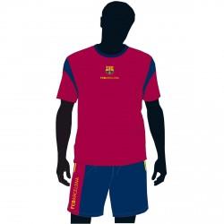 Conjunto pijama FC Barcelona azulgrana caja
