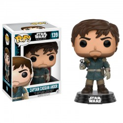 Figura POP Star Wars Rogue One Captain Cassian Andor Mountain Outfit